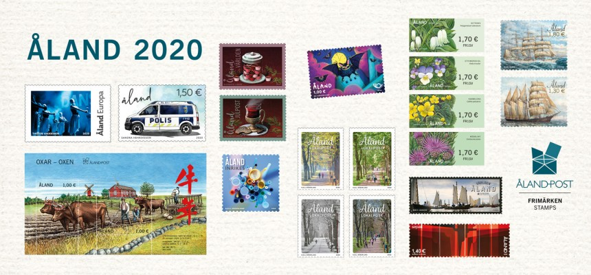 Åländska frimärken 2020