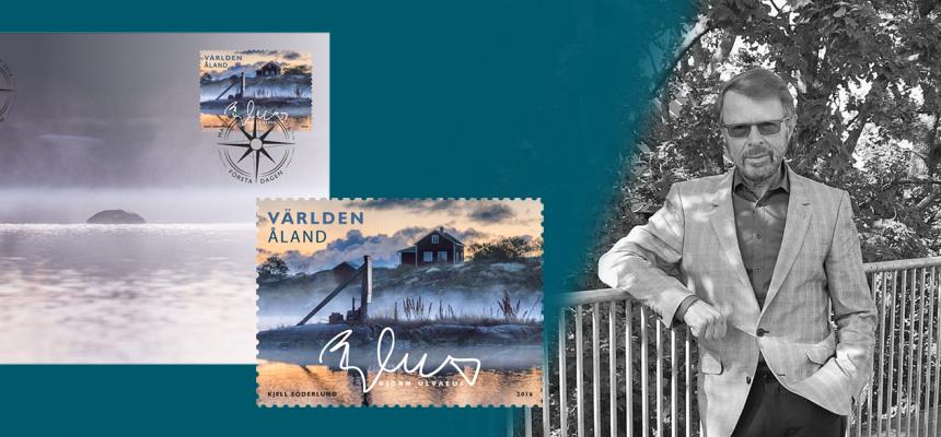 Björn Ulveus Mitt Åland-frimärksutgåva