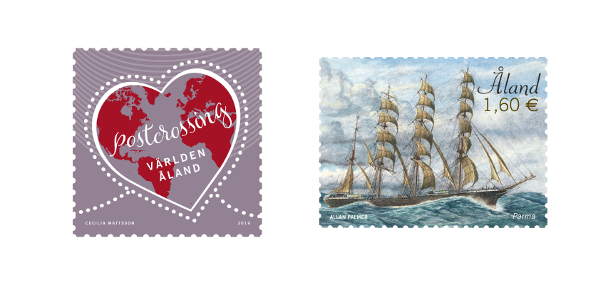 Åland Post frimärken 2019