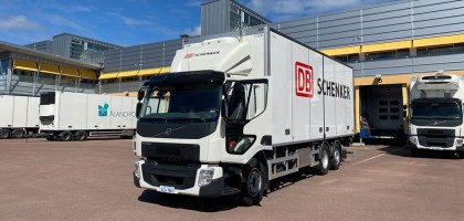 Åland Post inleder samarbete med DB Schenker