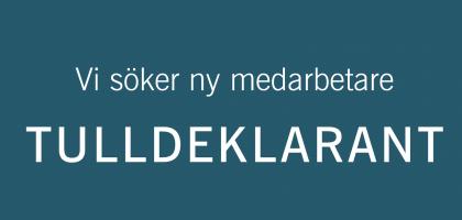 Åland Post söker tulldeklarant