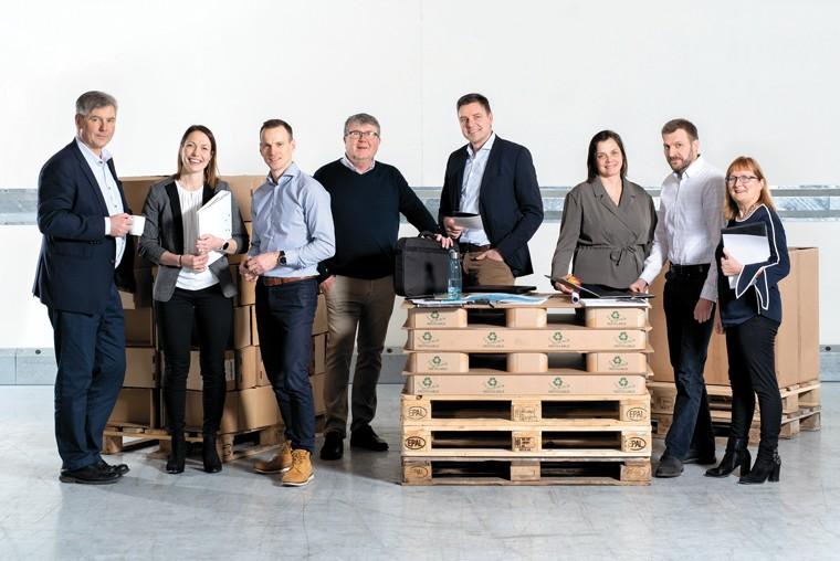 Åland Post ledningsgrupp 2019