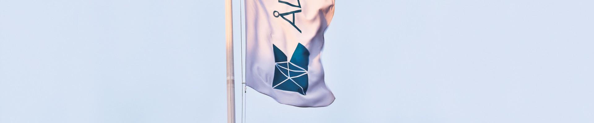 Flagga Sviby postterminal