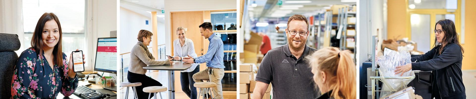 Åland Post medarbetare