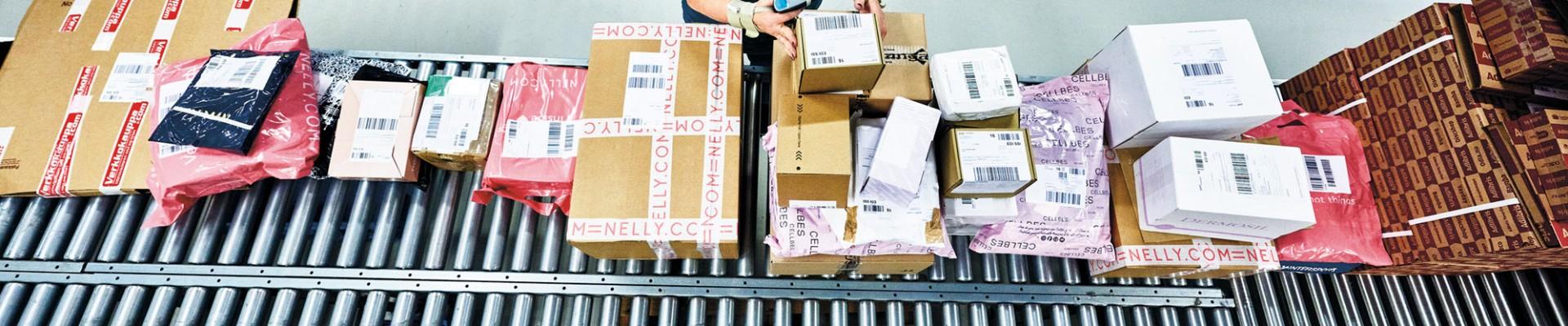 Paketsortering